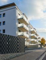 Andernach: Wohnungen von 70 bis 130 m² erfüllen dank KLB-Leichtbeton-Mauerwerk höchste Ansprüche an Schall- und Wärmeschutz.