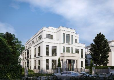 Exklusive Stadtvilla: Die monolithischen Außenwände aus Unipor-Mauerziegeln garantieren erhöhten Wärme- und Schallschutz.