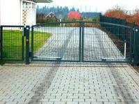 Beispiel für Unikaten Zaunbau