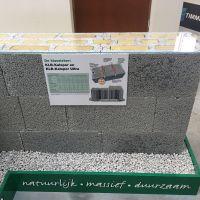 """KLB präsentiert hochwärmedämmende Leichtbeton-Konstruktion im """"Innovationszentrum für nachhaltiges Bauen"""" (Rotterdam)."""