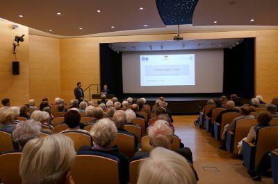 Prof. Koss Vortrag im Augustinum