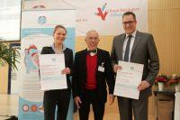 Frauke Sievert, Hans-Dieter Kulla, Oliver Gondolatsch (v.l.n.r.)
