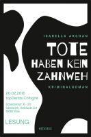 """Isabella Archan liest aus """"Tote haben kein Zahnweh"""" bei topDentis Cologne"""