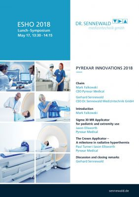 Das Lunch-Symposium- Programm von Dr. Sennewald Medizintechnik