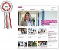 Die Webseite der Segeberger Kliniken ausgezeichnet mit Silber.
