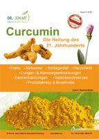 Titelseite des Informationsblattes über Curcumin