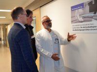Baustart Herzkatheterlabor