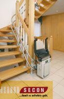 Mehr Mobilität im Alter: der Treppenlift für Senioren. Von Secon.