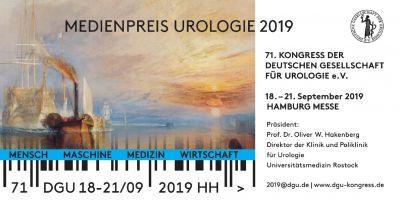 Bewerbungsfrist für Medienpreis Urologie 2019 endet am 31. Juli 2019.