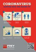 Corona-Virus - Schütze dich und bleibe fit!