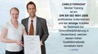 DIN EN ISO 9001:2008 zertifiziert: Institut CARLO FARADAY Mental Training GmbH & Co. KG