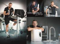 Mark Keller überzeugt die Reinheit des belaaqua® Trinkwassers