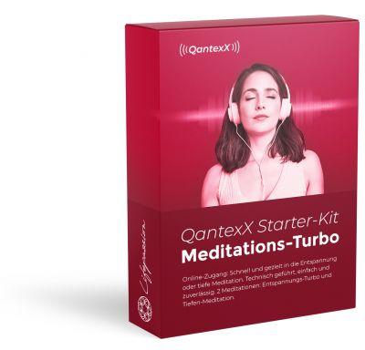 Der QantexX® Meditationsturbo: Entspannung per Knopfdruck