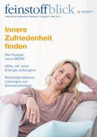 9. Ausgabe feinstoffblick - Innere Zufriedenheit finden - März 2015