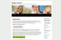Informationsportal zum Augen lasern mit Hintergrundwissen zur Augenop