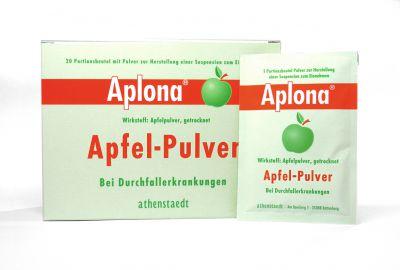 Apfelpulver gegen akuten Durchfall