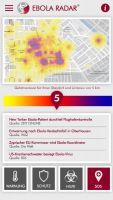 Ebola App 'Ebolar Radar'