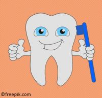 Richtige Zahnpflege sorgt für gesunde Zähne und ein strahlendes Lächeln / ©freepik.com