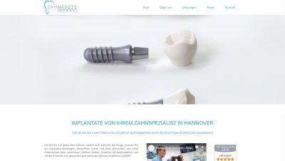 Endlich wieder schöne Zähne mit Implantaten der Zahnärzte Hannover am Lister Platz