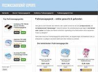 Webseite fussmassagegeraet-experte.de