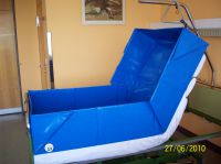 Die Badewanne direkt im Patientenbett - eine Erfindung aus Deutschland