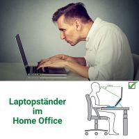 Ergonomie im Home Office mit einem Laptopständer
