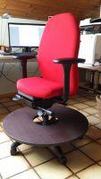 DAVID-2014 der Bürosessel für Menschen mit Kleinwuchs, mit ERGO-TOP und zweiter Fußebene