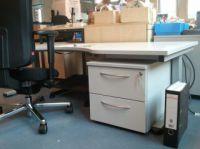 Ergonomischer Büroarbeitsplatz bei Kleinwuchs