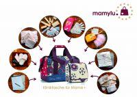 Kliniktaschen von mamylu für Schwangere zur Geburt