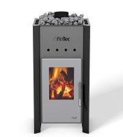 FinTec Sauna- und Wellnesstechnik stellt neuen premium Holz-Saunaofen FinTec TROLL vor