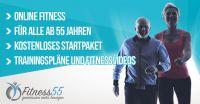 Fitness55: Online Fitness für die Generation 50 Plus