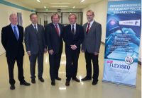 v.l.n.r.: John Mayo, Stefan Fasching, Martyn Smith, Dr. Matthias Rother, Prof. Dr. med. Egbert J. Seidel