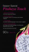 Fruchtige Gesichtspflege aus frischer Drachenfrucht und wohltuende asiatische Massagetraditionen