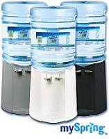 Fördert gesundes Trinkverhalten - der mySpring-Wasserspender