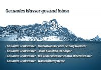 Zwischen herkömmlichem Mineralwasser und Bio-Mineralwasser bestehen deutliche Unterschiede.