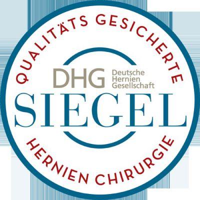 """Herniensiegel - """"Qualitätsgesicherte Hernienchirurgie"""""""