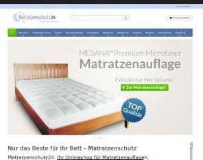 Matratzenschutz24 bietet eine große Auswahl an Encasing