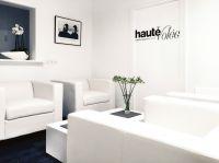 """Loungebereich """"hautevolée"""" medical beauty center in der historischen Altstadt von Mindelheim"""