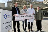 Spende des Klinikum Ingolstadts an regionale und internationale Hilfsprojekte. Foto: Klinikum Ingolstadt
