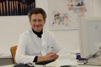 Der Direktor des Instituts für diagnostische und interventionelle Radiologie, Prof. Dr. Dierk Vorwerk, konnte sich über eine hohe