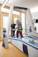 Der Endeffektor Gangtrainer LYRA ist bei HSH Lamprecht ein wichtiger Therapie-Bestandteil.