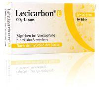 Lecicarbon Abführzäpfchen mit Kohlendioxid