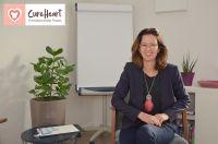 Systemischer Personal und Business Coach Katarina Matthes in ihrer Emotionscode Praxis (Quelle: Dirk Matthes)