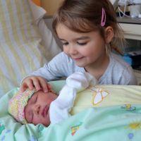Lucie heißt das Neujahrsbaby