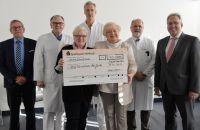 Margot Schmitt unterstützt mit 10.000 Euro neues Leberfunktions-Testverfahren