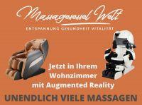 Massagesessel Welt setzt auf virtuelle Produktpräsentation im Wohnzimmer