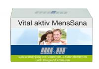 Vital aktiv MensSana ist unter der Pharmazentralnummer (PZN) 10133920 in deutschen Apotheken erhältlich