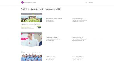 Zahnaerzte Mitte Hannover mit ONMA Marketing Zahnärzte in Hannover finden