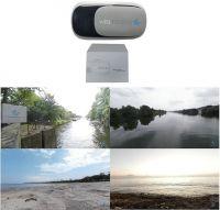 Vita Talalay VR-Brille - am Strand, am Fluss oder beim Sonnenaufgang einschlafen, alles ist möglich.