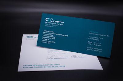 greiterundcie. entwickelte das neue Corporate Design inklusive Website für die Gemeinschaftspraxis COC Kempten. Foto: B. Martin